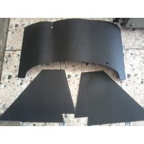 Papelão Anti Ruido Fundo+lateral Motor Fusca 3 Peças