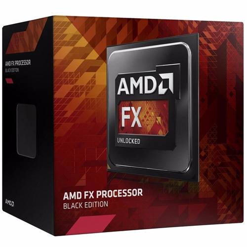 Processador Amd Fx 8320e Octa Core Black Edition 16m 4.0ghz