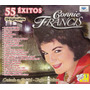 Cd Connie Francis 55 Exitos 3 Cd's Box Vol. 1,2, & 3 México