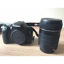 Câmera Canon T3i + Lente 18-135mm + Cartão 16gb [usada]