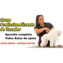 Curso Banho Tosa, Apostila+videos Frete Gr