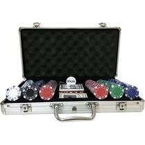 Kit Maleta Poker 300 Fichas Oficiais
