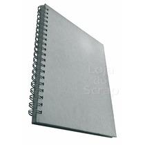 Caderno Luxo Capa Dura Prata Com Agenda Planejamento Semanal