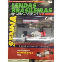 Coleção Lendas Brasileiras Do Automobilismo 34 - Senna