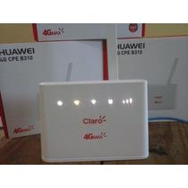 Modem Roteador 4g Cpe B310 Huawei Desbloqueado Frete Grátis