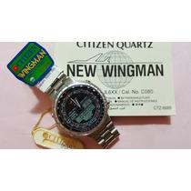 Citizen New Wingman C080 Prata - Aqualand Combo Windsurf