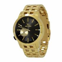 Relógio Rip Curl Detroit Gold Dourado Mid Size