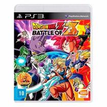 Dragon Ball Z Battle Of Z - Ps3 - Lacrado Original