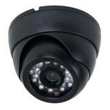 Camera-Seguranca-Cftv-24-Leds-Infravermelho-Dome-1200-Linhas