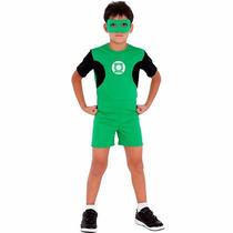 Fantasia Lanternas Verdes 4 A 6 Anos M