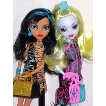 Monster High Scaris - Lagoona Blue E Cleo De Nile