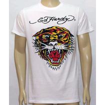 Camiseta Ed Hardy Masculina 100% Original