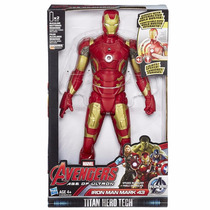 Boneco Marvel Vingadores Era Ultron Iron Man Mark 43 Hasbro
