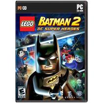 Jogo Lego Batman 2 Dc Super Heroes - Pc Original - Portugues