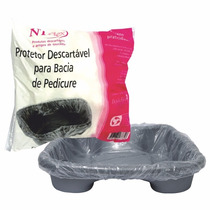 Protetor Descartável Ntflex Para Bacia De Pedicure Com 50 Un