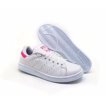 Tênis Adidas Stan Smith De Couro Lançamento 2016 Top