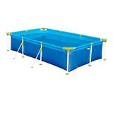 Piscina Estrutural Azul Mor 001012 Retangular 2.71m De Comprimento X 1.56m De Largura