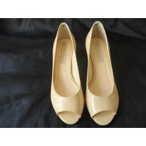 Sapato Scarpin Jorge Bischoff Numero 35 Salto 6cm