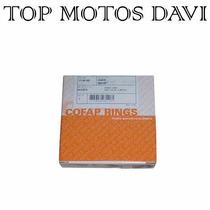 Jogo Anel Pistão Moto Honda Titan 00/04 0.25