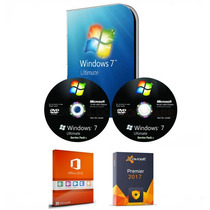 Cd Formatação Windows 7 32/64 + Office