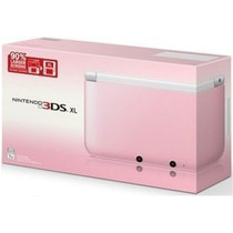Nintendo 3ds Xl Rosa 4gb + 6 Ar Cards Português Original