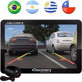 Gps Automotivo Aquarius  4.3 Câmera De Ré Tv Digital Nf
