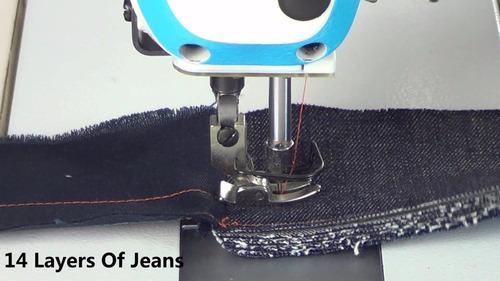 Maquina De Costura Reta Industrial Jack F4 Com Pé De Quilt