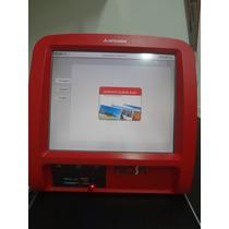 Kiosk Mitsubishi Pt6000 + Impressora Mitsubishi Cp9820dw-ag