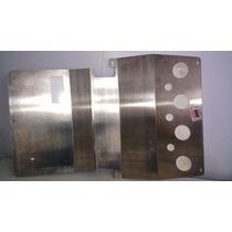 Protetor De Cárter Em Alumínio Novo Original L200 Quadrada