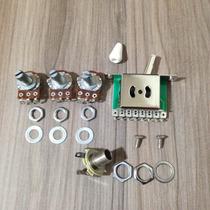 Kit De Componentes Para Elétrica De Stratocaster