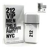 Perfume Carolina Herrera 212 Vip Men Edt 50ml + Amostra