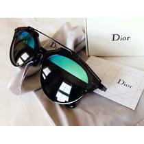 Dior - So Real - Preto - Lente Escura E Azul