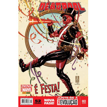 Deadpool # 03 Série Mensal Novos Lacrados Panini