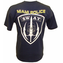 Camiseta Miami Police Swat 1* Tam. G