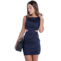 Vestido Justo Com Recortes - Kam Bess - Ve0713