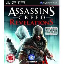 Assassins Creed Revelations Ps3 Legendado- Cod Psn Via Email