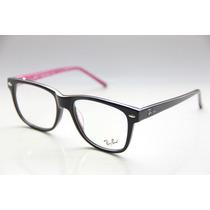 Armação P/ Óculos De Grau Ray Ban 5228 Masculino Feminino