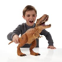 Jurassic World T Rex Eletrônico Hero Luxo 43 X 32 Cm Hasbro