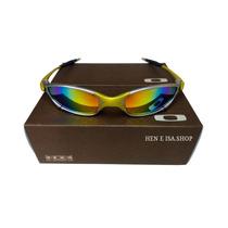 4cf6c42c3 Oculos Oakley Juliet 24k Arco-iris +chaves+teste 12x S/juros à venda ...