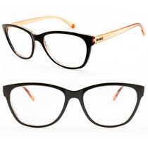 Armação Feminina Óculos De Grau Secret Vintage Retrô - 80052