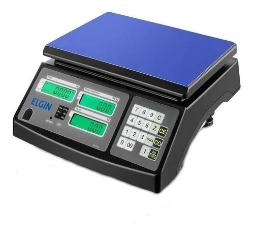 Balança Comercial Digital Elgin Sa-110 15 Kg 110v/220v  Preto