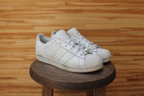 Tênis adidas Superstar Branco Tamanho 36 Usado Original - R  220 en ... 56711af5de7ec