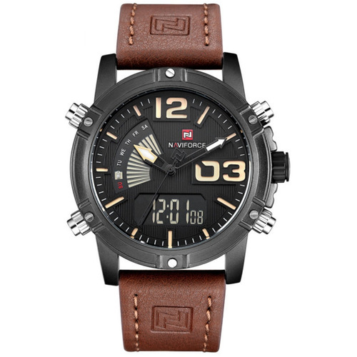 38df6c268f4 Relógio Masculino Naviforce Modelo 9095 Promoção Confira.