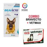 Bravecto De 20 A 40 Kg - Vermifugo Vetmax Plus 4 Comprimidos