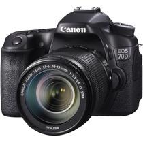Canon Eos 70d + Kit 18-135mm Stm - 20mp