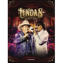 Milionário & Marciano - Lendas - Dvd + Cd Original