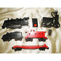 Lionel 1062 Trem Antigo Eletrico Locomotiva Vagões Acessorio