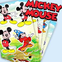 Mickey Mouse - Cartela De Adesivos - Etiquetas Adesivas