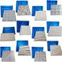 Kit 25 Formas De Plástico C/borracha Gesso 3d Digitalartrio