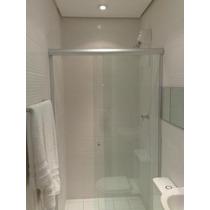 Box Banheiro, Vidro Temperado 8 Mm, Incolor, 0km Instalado